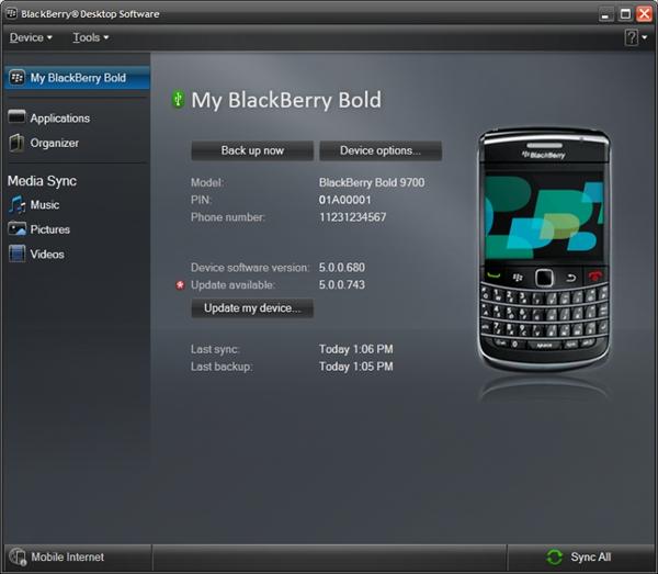 Free download for blackberry desktop manager 6.